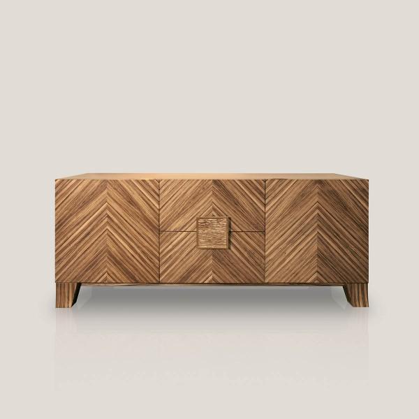 Febo credenza in legno zebrano