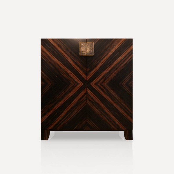 Febo Cabinet Ebony wood